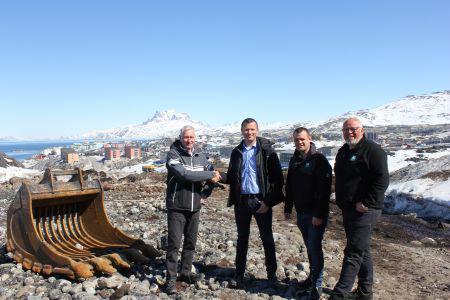 Aarsleff vil have del i udviklingen i Grønland
