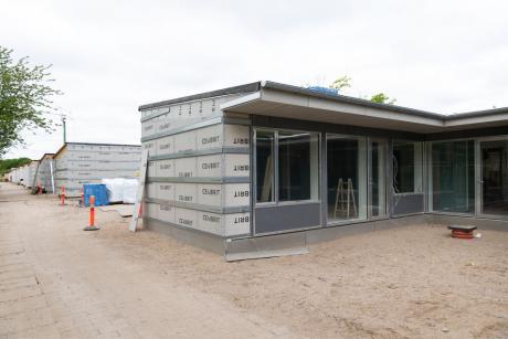 30.000 m2 facade- og vindspærreplader til renoveringsprojekt