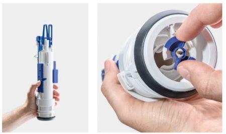 Ny skylleventil er vandbesparende og let at installere