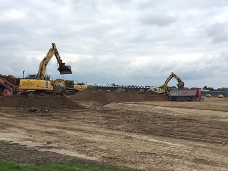 Nyt stort byggevarehus under opførelse i Sønderborg