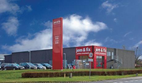 Enormt Jem & Fix åbner nyt byggemarked   BygTek.dk OO29