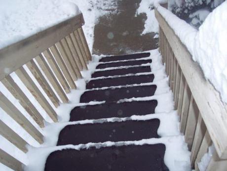 Nye måtter smelter sneen